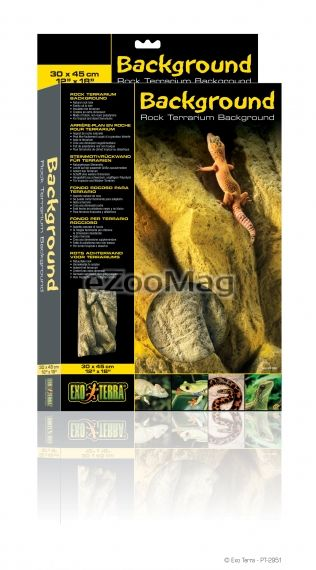 Exo Terra Rock Terrarium Background PT-2951 -  30 х 45 cm