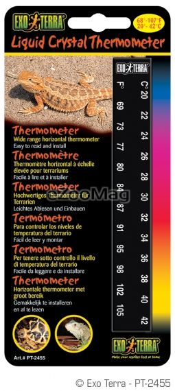 Exo Terra Liquid Crystal Thermometer PT-2455