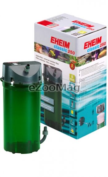 Eheim Classic 250 2213020 - External filter for aquariums up to 250L with filling
