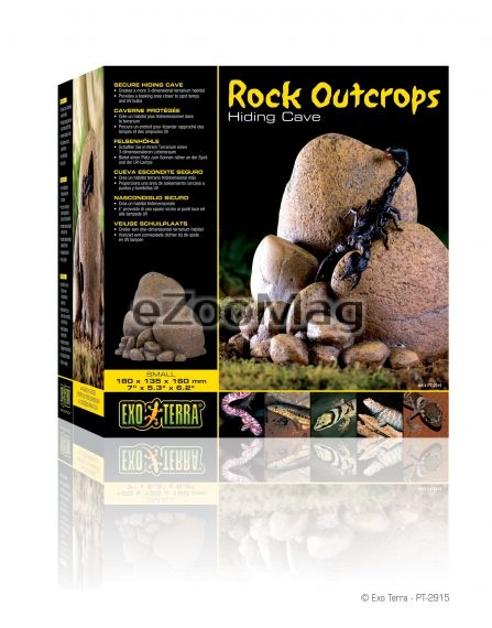 Exo Terra Rock Outcrops Small PT-2915 180 x 135 x 160 mm