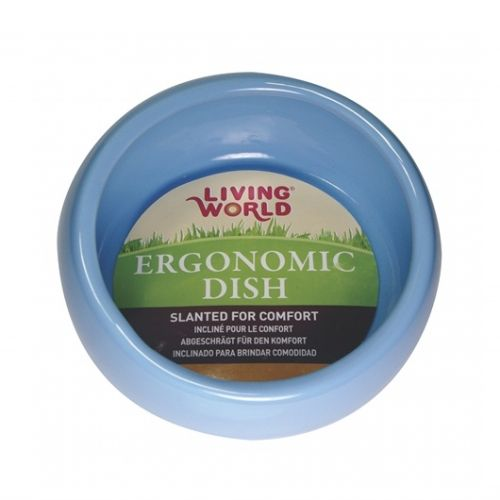 Hagen Living World Ergonomic Dish Blue Large 61683 420ml