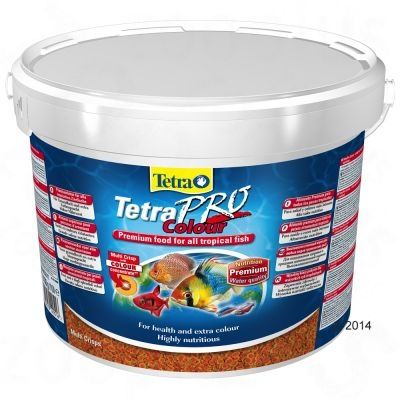 TetraPro Color Crisps - fish food 10L