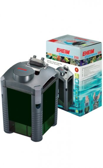 Eheim eXperience 250 2424020- External filter for aquariums up to 250L with filler substrate and mushrooms