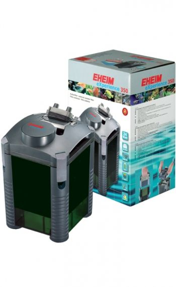 Eheim eXperience 350 2426020- External filter for aquariums up to 350L with filler substrate and mushrooms