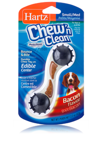 Hartz Chew 'n Clean Bounce & Bite Small 3270011014  - Toy for dog
