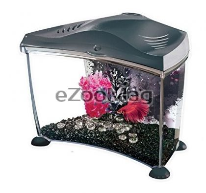 Hagen Aquarium Marina Betta Home Black 6.7 L