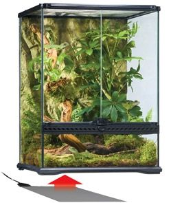 Exo Terra Heat Wave Rainforest Medium РТ-2024 26.5 x 28 cm