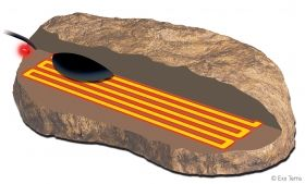 Exo Terra Heat Wave Rock Medium РТ-2002 10W 15.5 x 15.5 cm