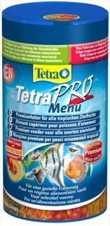 TetraPro Menu - four types of flakes 250ml