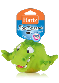 Hartz Dura Play Zoo Balloons 3270011576  - Toy for dog
