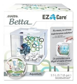 Hagen Marina Betta EZ Care Aquarium - Black - 2.5 L